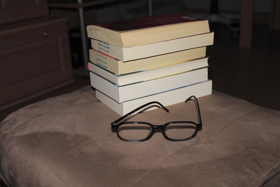 Books, Education, Book, Reading Glasses, Formed, Read