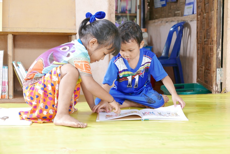 Children, Read, Book, Interesting, Child Reading