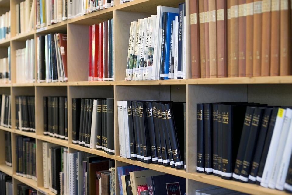 Library, Book, Read, Books, Research, Bookshelf