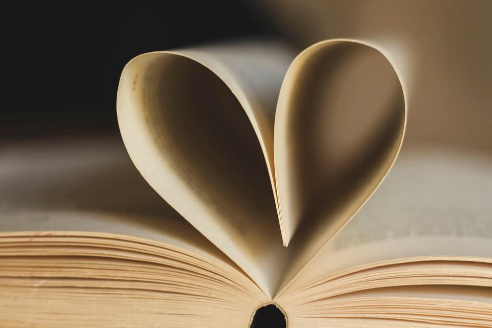 Book, Pages, Book Page, Heart, Paper, Read, Open