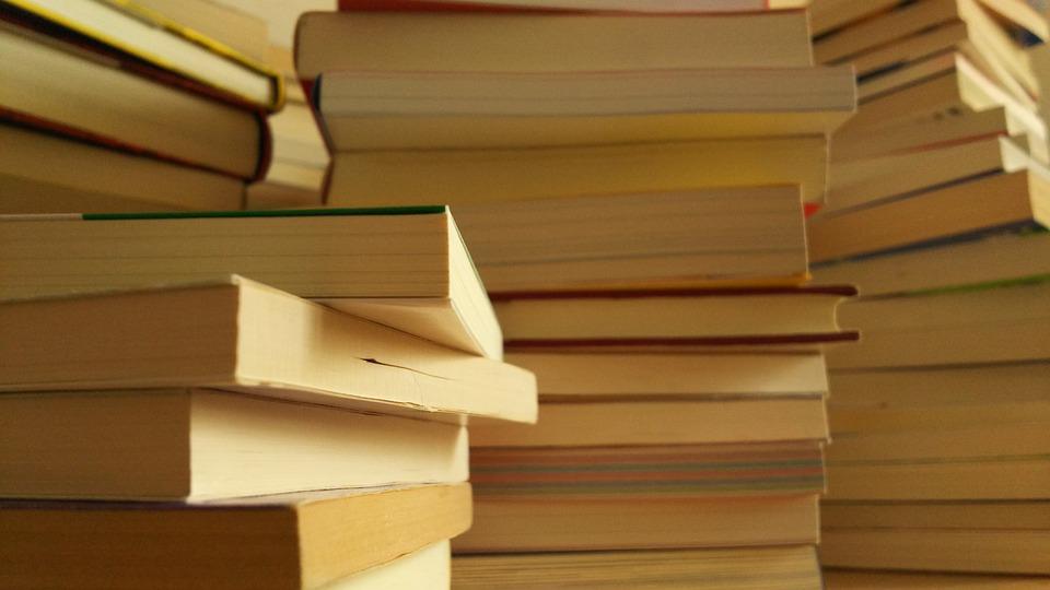 Books, Library, Literature, Knowledge, Book Pile