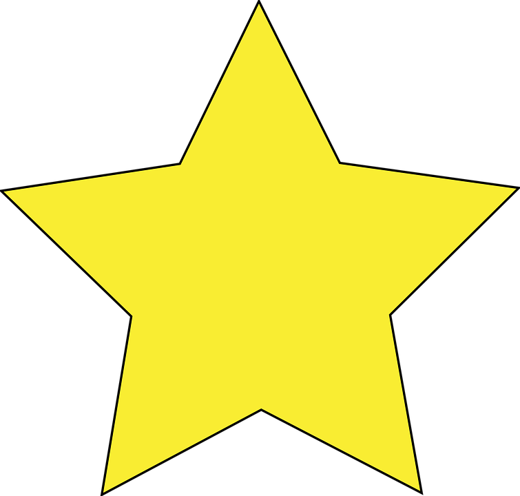 Star, Yellow, Favorite, Bookmark
