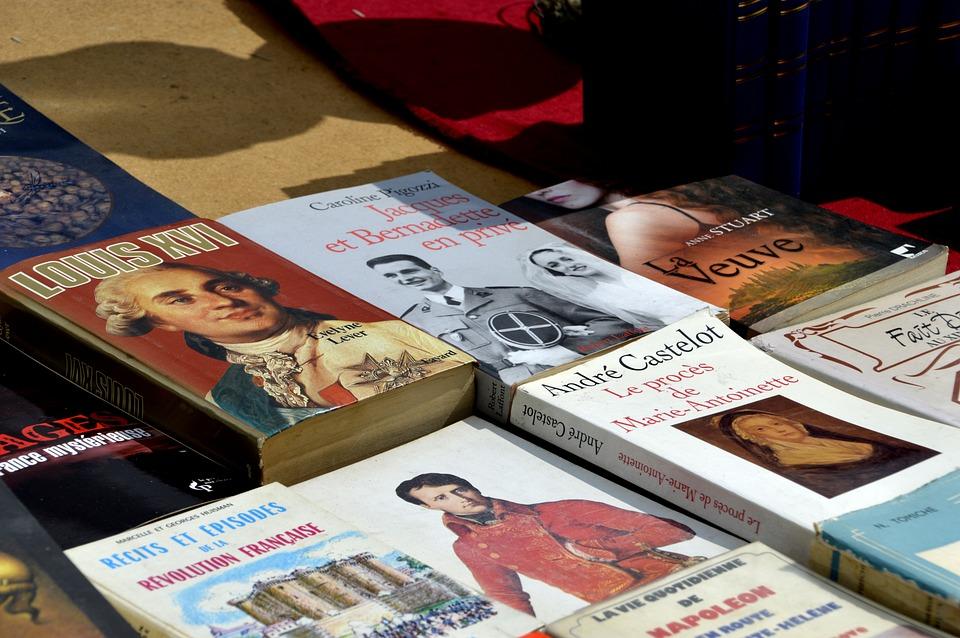 Flea Market, Market, Paper, Sale, Balances, Books