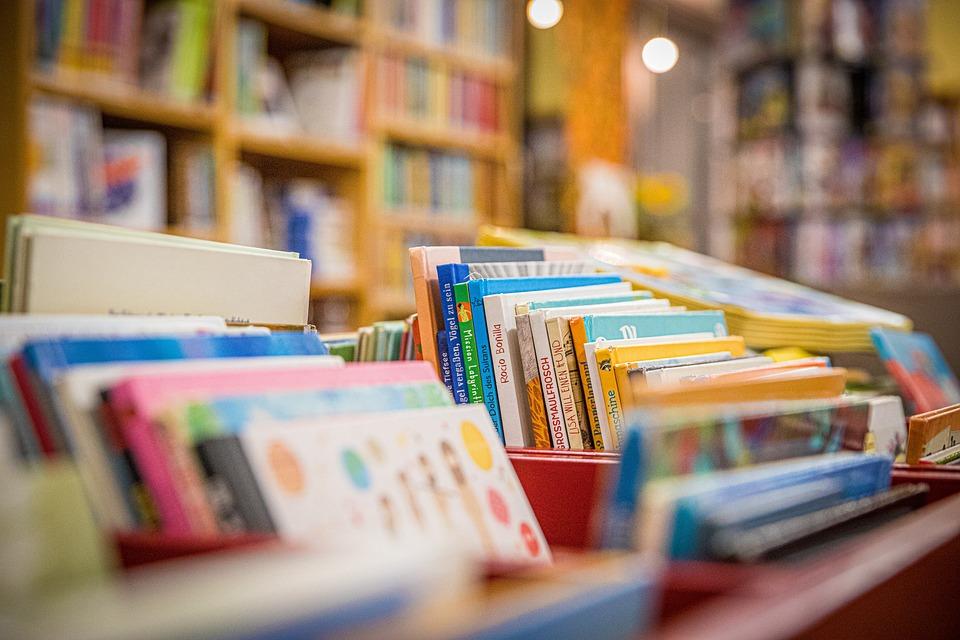 Books, Library, Bookshelves, Bookstore, Literature