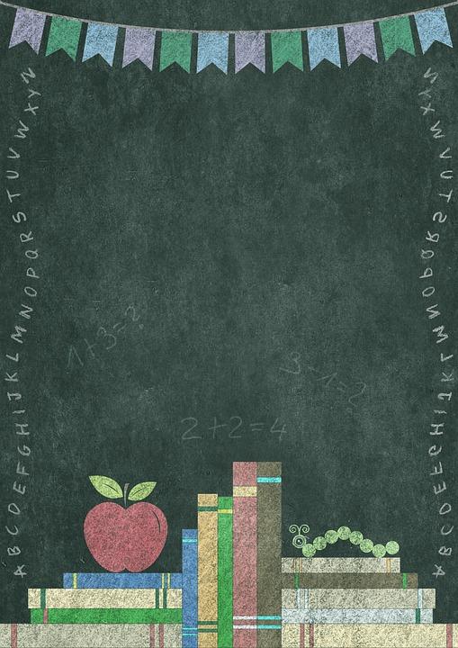 Books, Letters, Bookworm, Apple, Alphabet