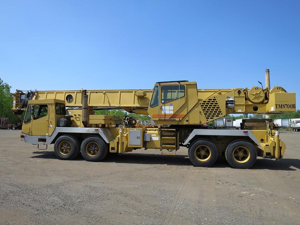 Crane, Boom Truck, Construction