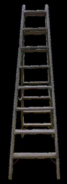 Wood Head Wooden Ladder Garden Boost
