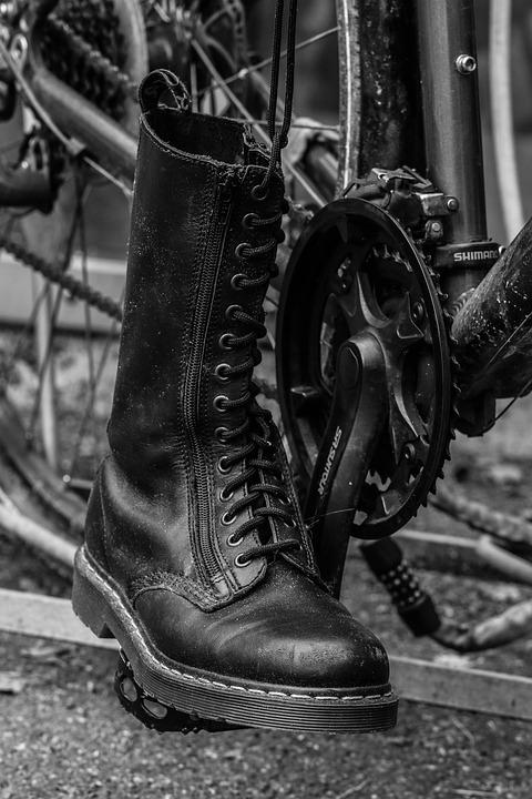 Boot, Bicycle, Cycle, Bike, Pedal, Wheel, Dr Martens