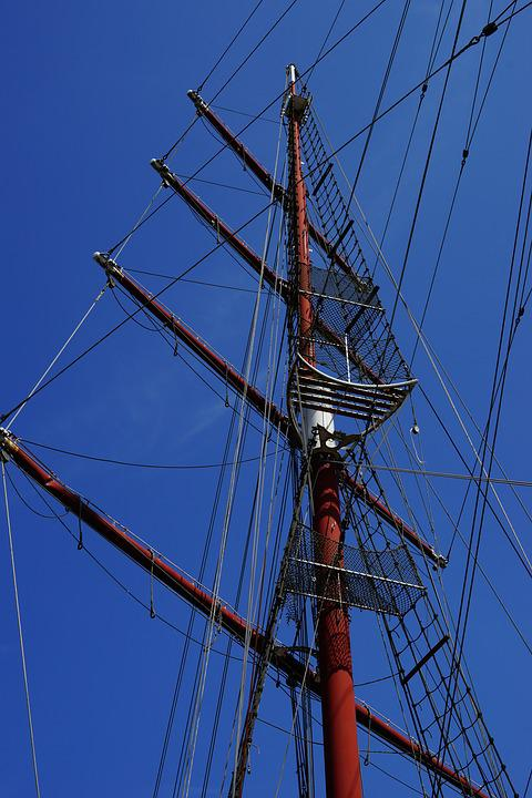Boot, Sailing Boat, Rigging, Ship, Boat Masts, Masts