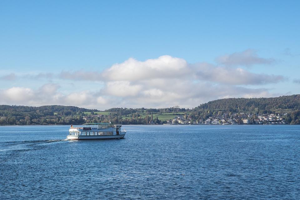 Lake Constance, überlingen, Boot, Ferry, Lake, Rest