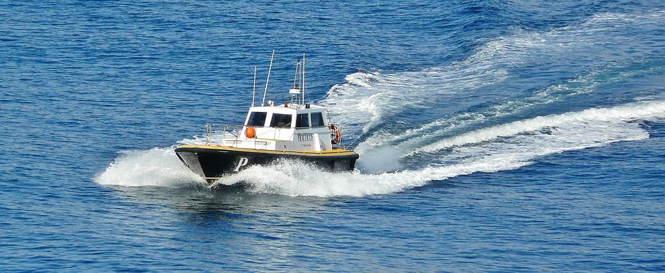 Boot, Ship, Powerboat, Fast, Coast Guard, Sea, Maritime