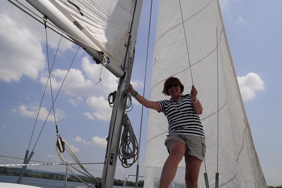 Sailor, Sail, Sailing Trip, Ahoy, Boot, Cheerful