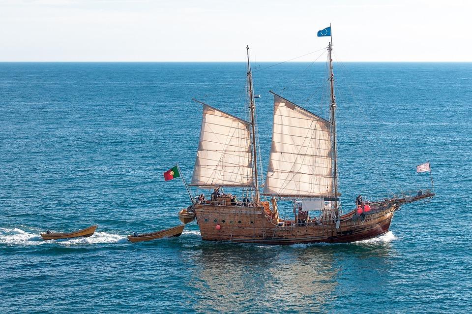 Pirate Ship, Pirates, Ship, Boot, Sea, Water, Ocean