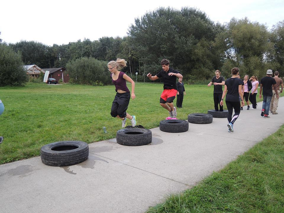 Bootcamp, Car Tyres, Crossfit