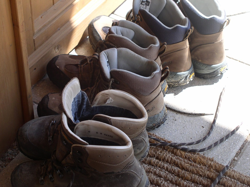 Hiking, Shoes, Boots, Sport, Mountains, Summer