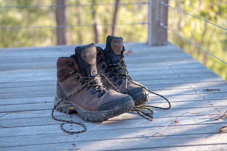 Boots, Hiking Boots, Work Boots, Leather, Outdoors