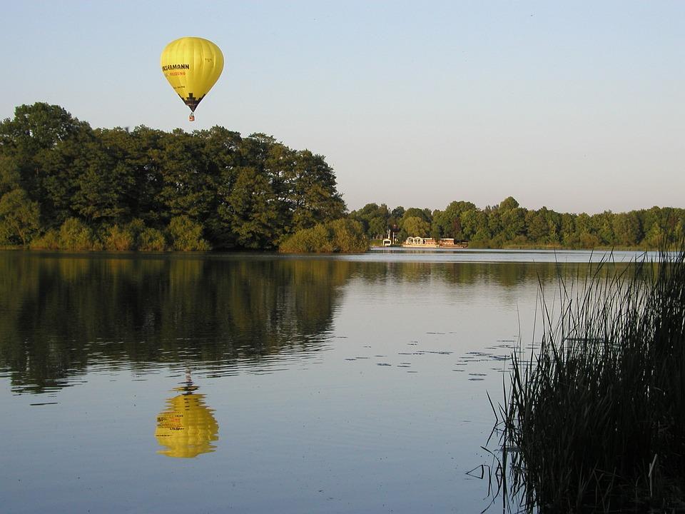 Hot Air Balloon, Hot Air Balloon Ride, Borde Holm