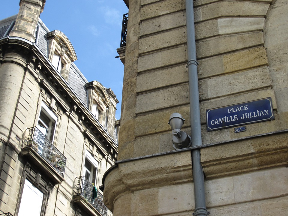 Bordeaux, City Street, Place Camille Jullian, Urban