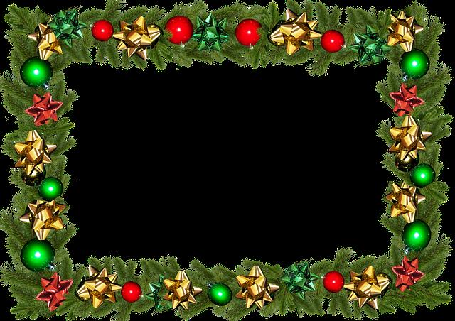 Frame, Border, Christmas