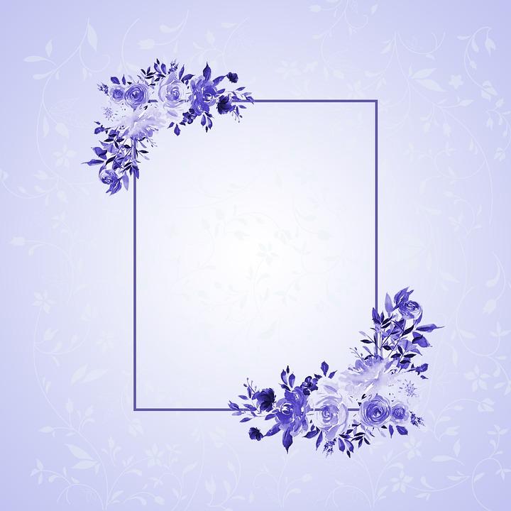 Frame, Flower Frame, Banner, Invitation, Border