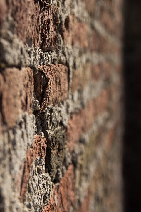 Wall, Stone, Mortar, Brick, Festival, Border