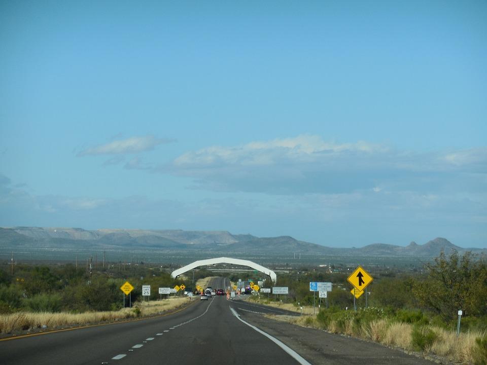 United States, Border Patrol, Check Point, Sign