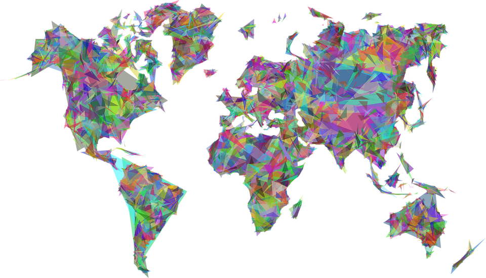 Free photo borders abstract map art world geometric earth max pixel world map earth abstract geometric art borders gumiabroncs Images