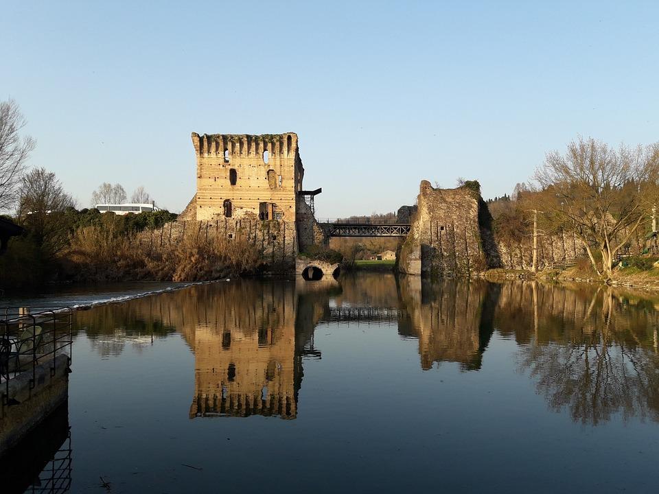 Borghetto Sul Mincio, No Person, Waters, Architecture