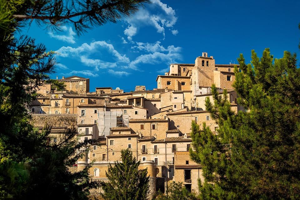 Architecture, Historian, House, Borgo, Italy, Landscape
