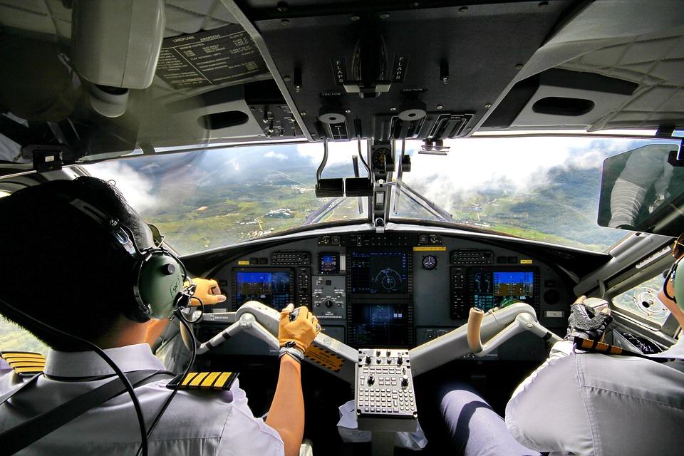 Bario, Pilots, Borneo, Dhc-6-400 Cockpit, Fly