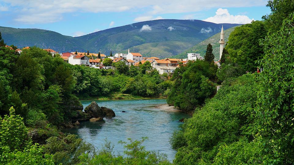 Mostar, Balkan, The Balkans, Bosnia And Herzegovina