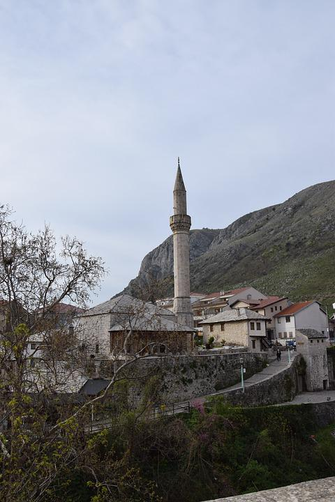 Minaret, Bosnia, Mostar