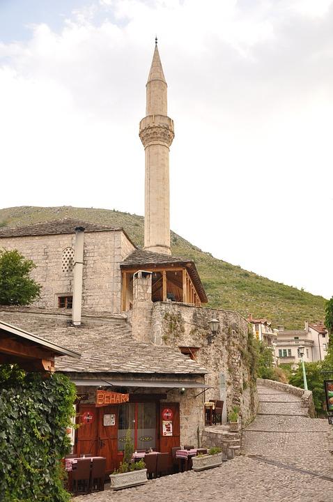 Bosnia, Mostar, Monument, Mountain, Travel, Vacancy