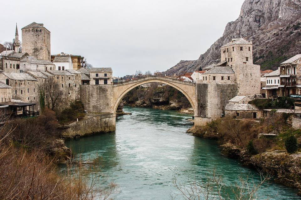 Mostar, Bridge, Travel, Bosnia, Herzegovina, Stari