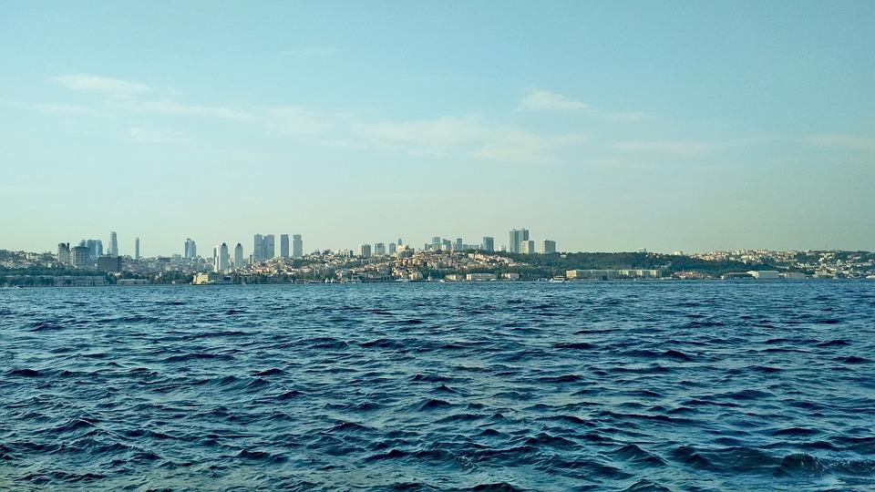 Turkey, Bosphorus, Istanbul, City, Architecture