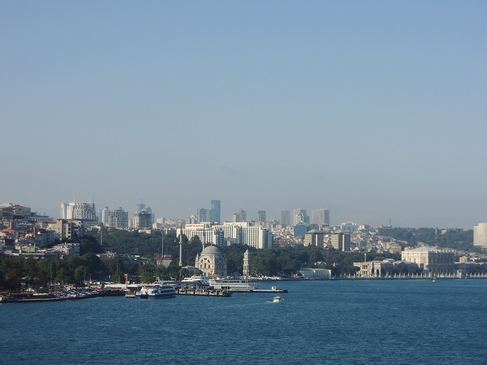 Bosphorus, Bridge, Sea, Bosphorus Bridge, City, View