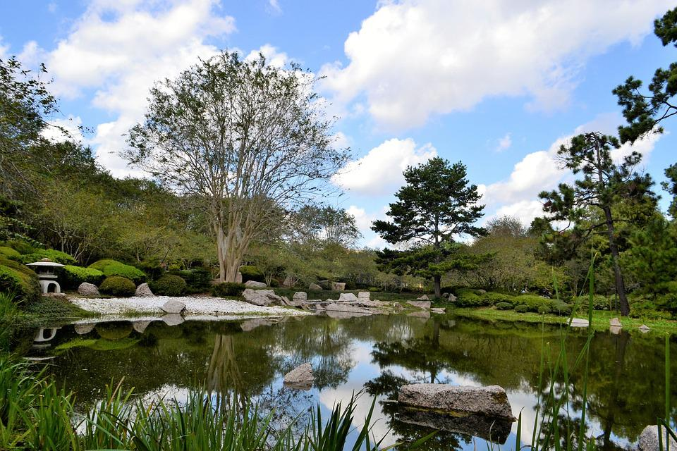 Botanical Garden, Japanese Garden, Houston, Texas