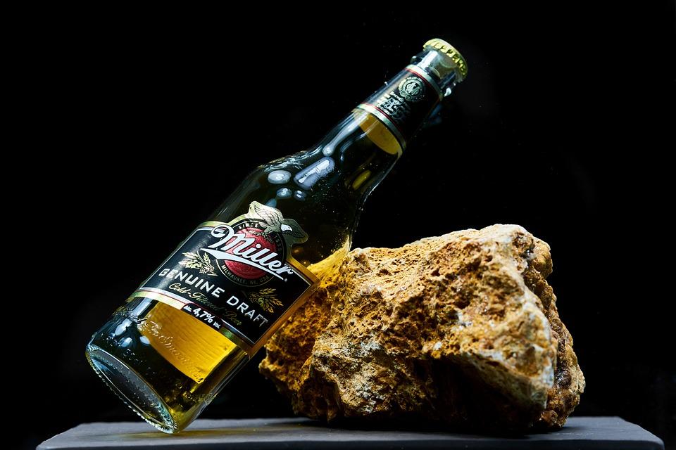 Beer, Miller, Brand, Bottle, Glass, Kennedy, Ad