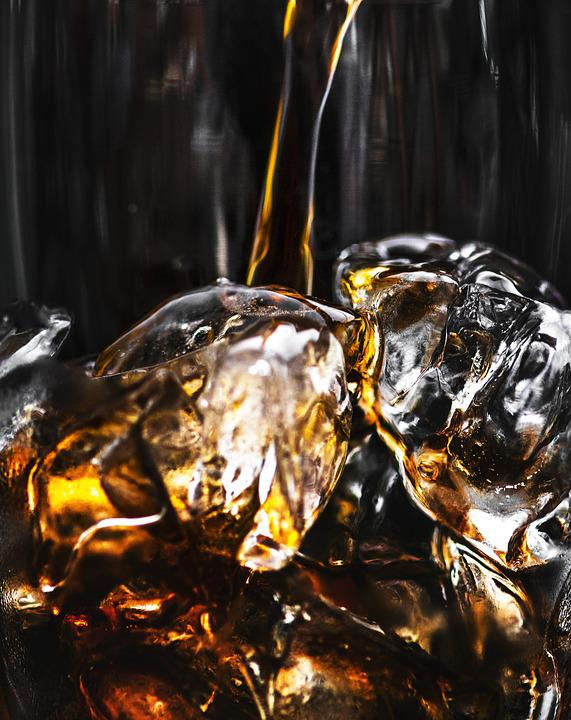 Background, Beverage, Black Background, Bottle, Bubble