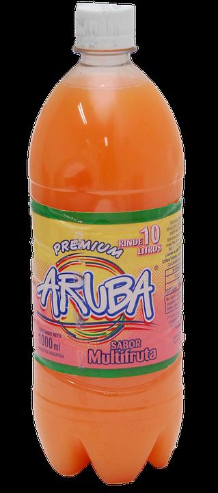 Juice, Multifruit, Drink, Bottle, Orange