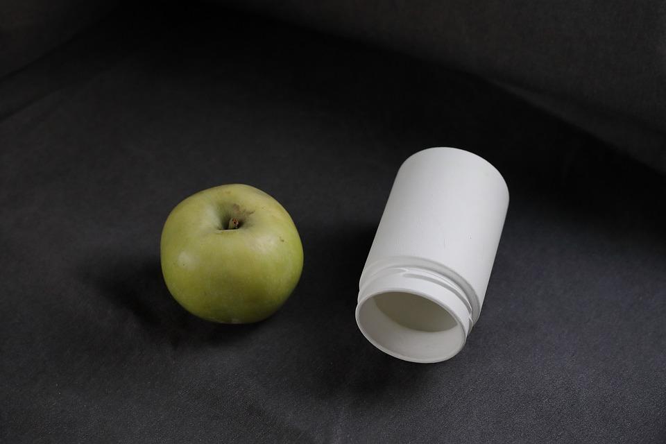 Apple, Natural, Food, Fruit, Eco, Bottle, Glass Jar