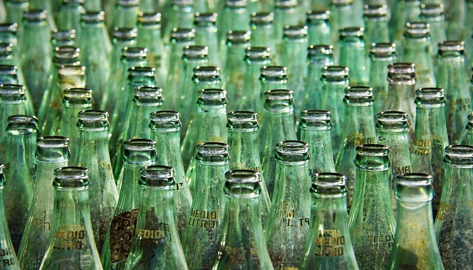 Bottle, Bottles, Glass, Beverage, Green, Fair, Drinks