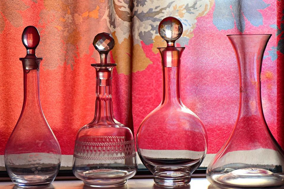 Bottle, Glass, Glassware, Container, Holder, Antique