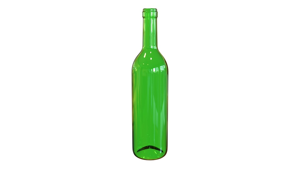 Bottle, Wine, Green, Vacuum, Barman, Bar, Shine