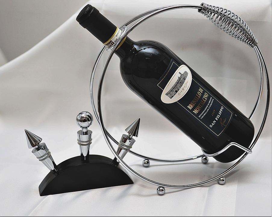 Wine Bottle, Bottle Holder, Closure, Red Wine, Bottle