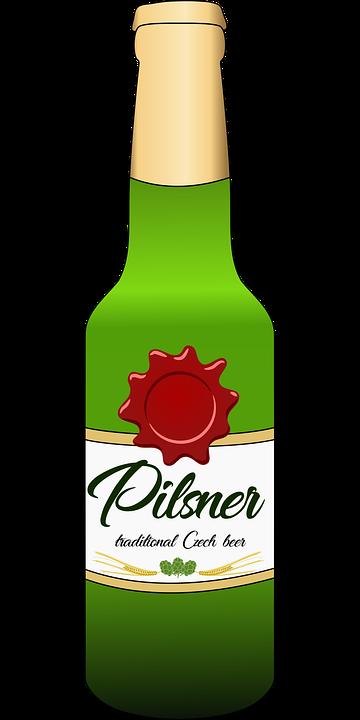 Beer, Beer Bottle, Bottle, Drink, Glass Bottle, Pilsner