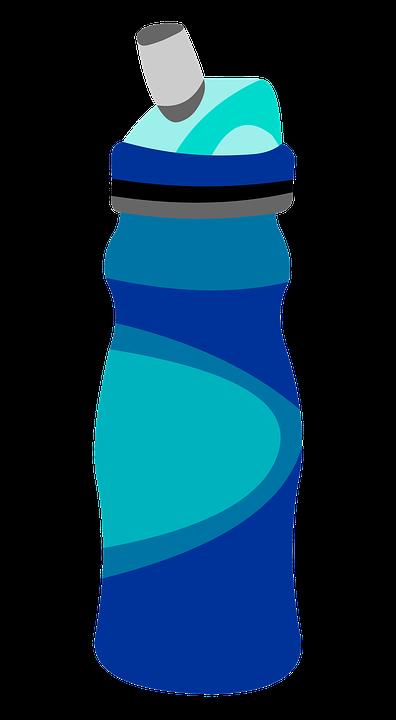 Water Bottle, Graphic, Bottle