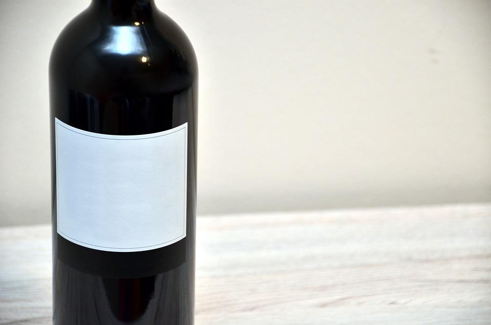 Wine, Bottle, Label, Wooden Table, Drink