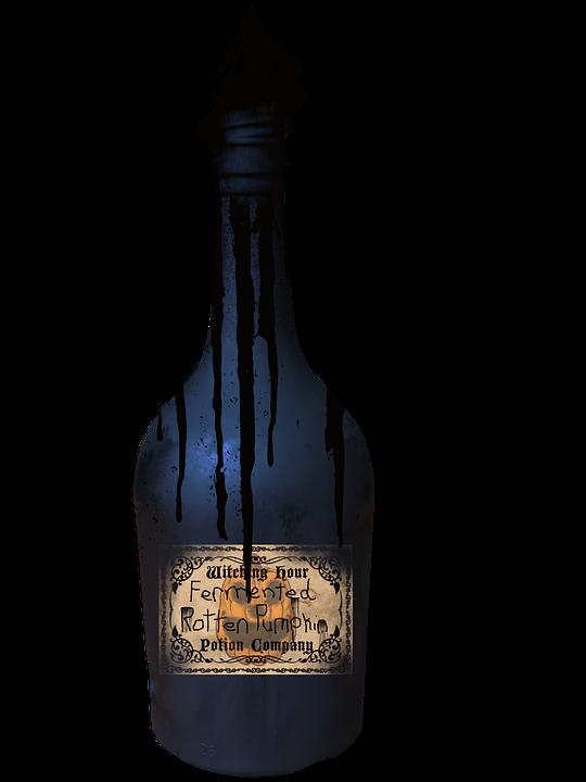 Potion, Bottle, Halloween, Witch, Witchcraft, Fantasy