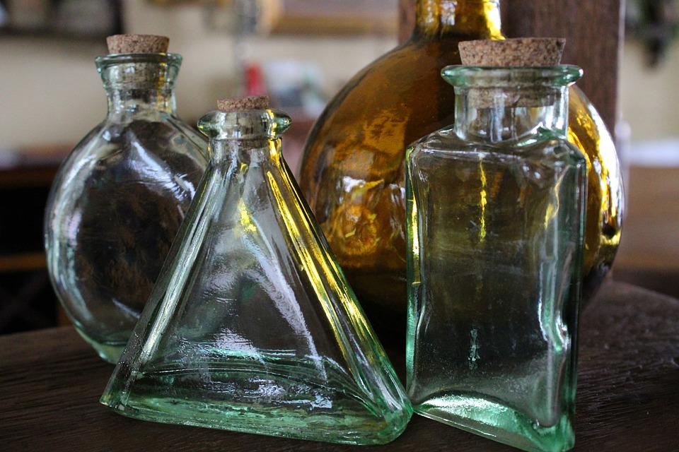 Bottle, Glass, Drink, Alcohol, Bottles, Liquid